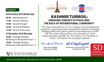 Kashmir Turmoil: Emerging Threats to Peace and the Role of International Community