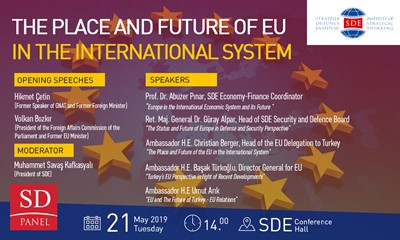"Panel: ""The Place And Future Of EU in The International System"""