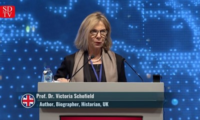 "Prof. Dr. Victoria Schofield: ""What's happening in Kashmir is a planned genocide"""