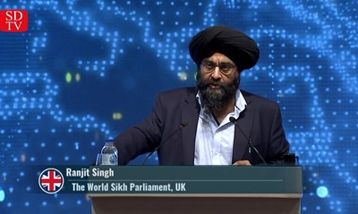 "Ranjit Singh: ""There are efforts to reduce the number of Muslim communities in Kashmir"""