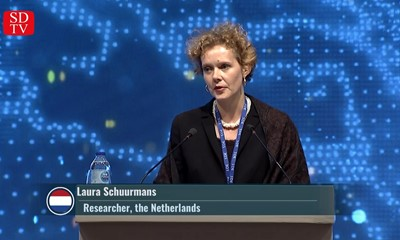"Laura Schuurmans: ""Why does the world always talk about Hong-Kong and not Kashmir?"""